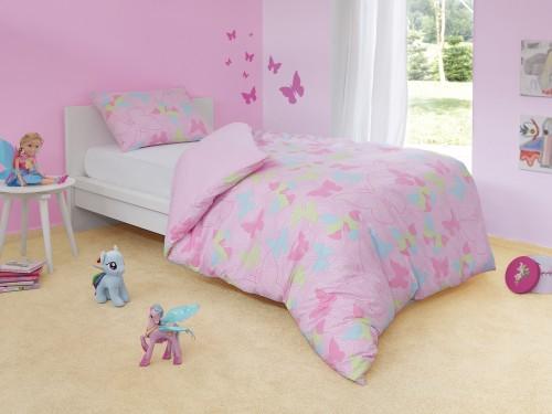 Butterfly posteljina za devojčice Dormeo