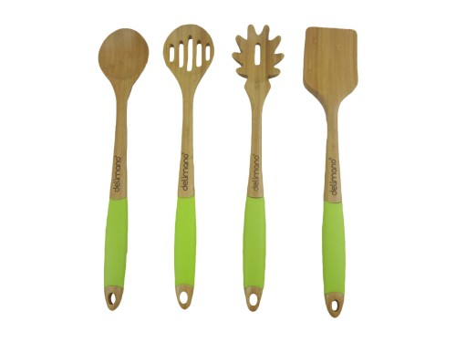 Bamboo Kuhinjski pribor - 4 kom. Delimano