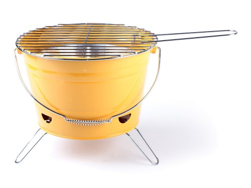 Steel Barbecue Bucket mini roštilj