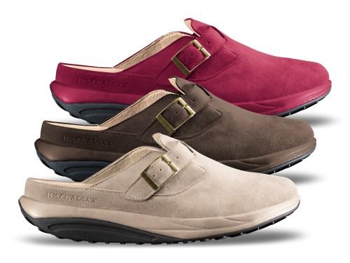 Walkmaxx Comfort kožne papuče Walkmaxx