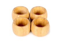 Bamboo Prstenje za salvete Delimano