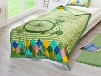 Dormeo prekrivač bicikl Verde