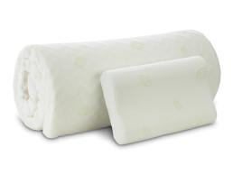 Dormeo Prostirka 6 cm + jastuk Renew Natura