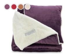 Warm Hug jastuk i prekrivač sa emotivnom porukom Dormeo