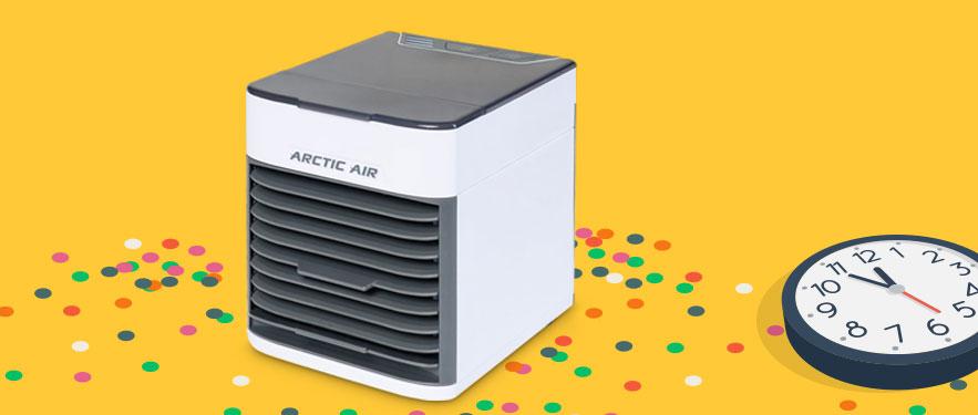 HAPPY HOUR Arctic Air uz dodatnih -5%