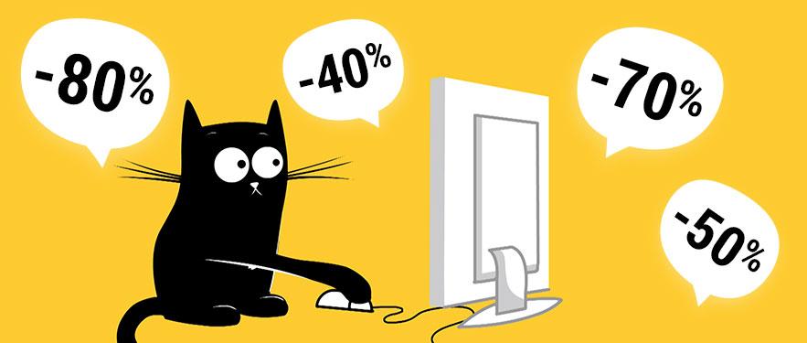 Crni petak - popusti do čak 80%